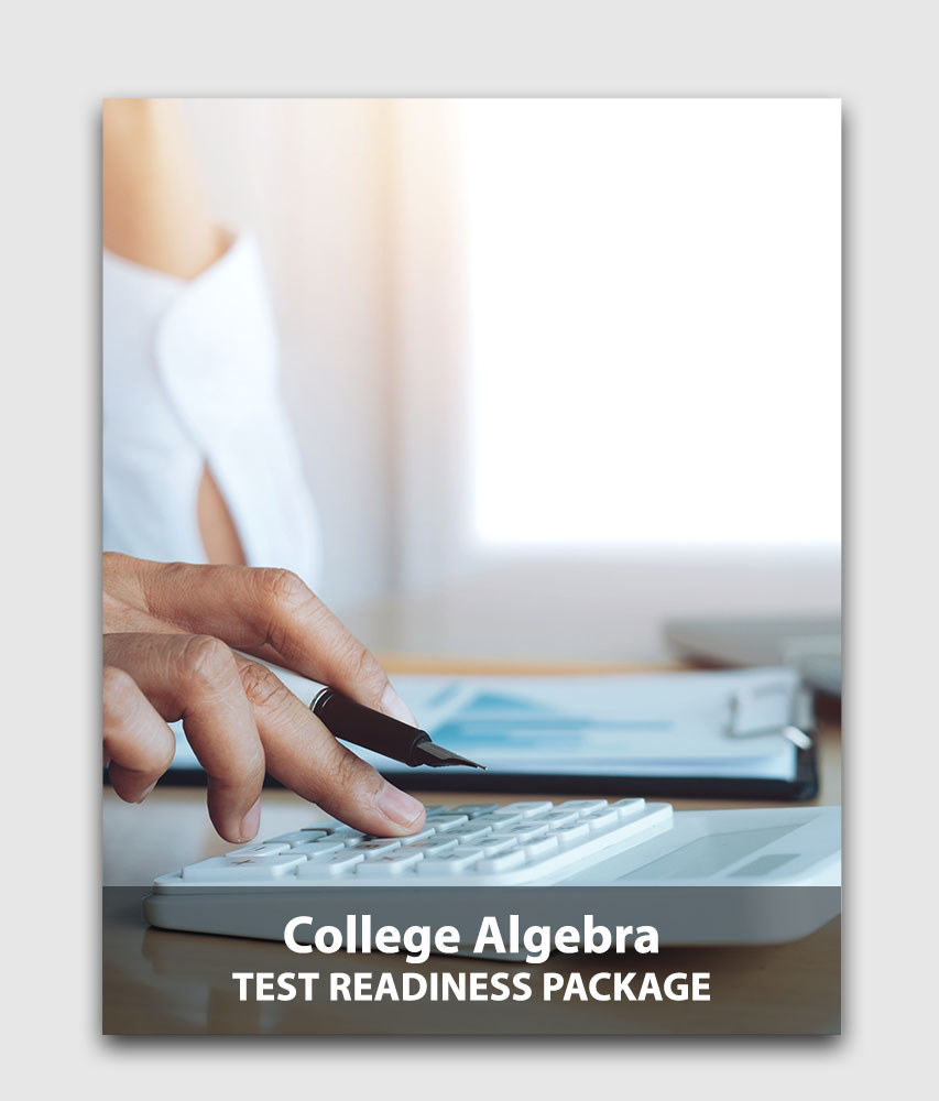 CLEP Algebra (Sanity Check) - Test readiness package (Online test) [Online Code]