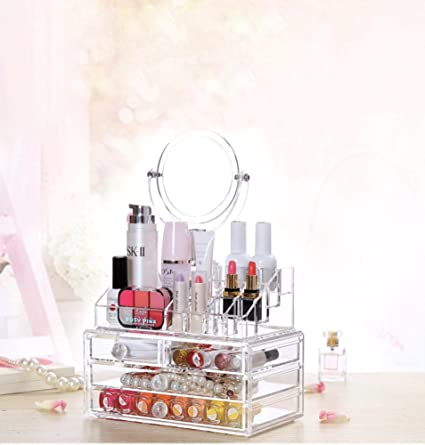 Amazoncom Vanity Organizer for Makeup Beauty Storage Containers
