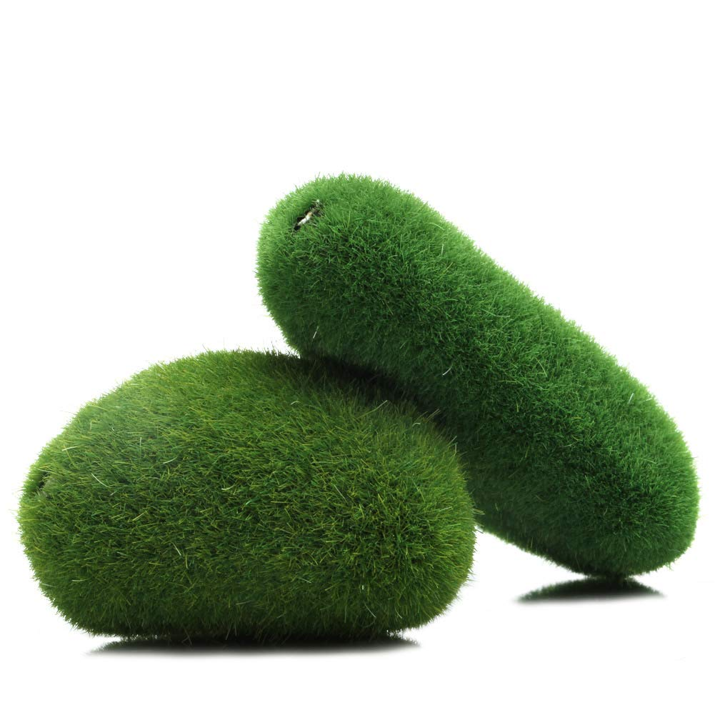 ZOUCY DIY Marimo Moss Balls Artificial Grass Turf Mini Fairy Garden Micro Terrario: Amazon.es: Hogar