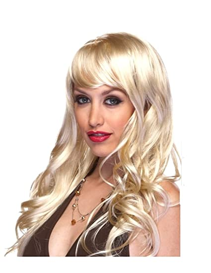 Characters Burlesque Synthetic Wig - Blonde