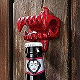 Design Toscano Fangs of the Vampire Cast Iron Bottle Opener