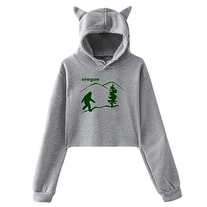 Amazon.com: Sudadera con capucha para mujer, diseño de ...