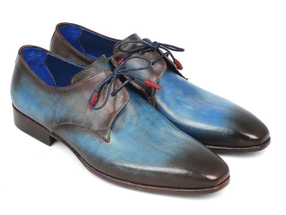 Paul Parkman , Herren braun Schnürhalbschuhe Mehrfarbig blau braun Herren d641b2