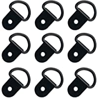 VinBee 40 Pack D-Ring Tie Downs, D-Rings Anchor Lashing Ring for Loads on Trailers Trucks RV Campers Vans ATV SUV Boats…