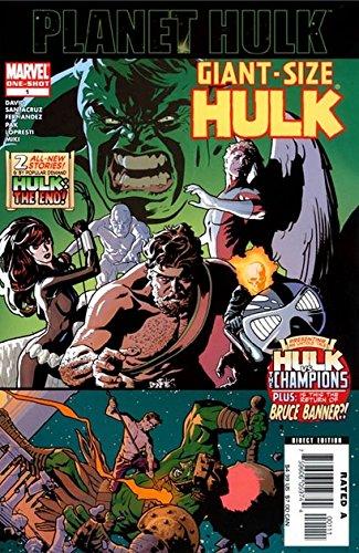 Planet Hulk 2006 Giant Size Hulk #1