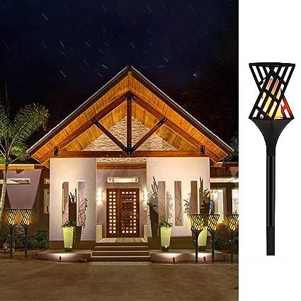 TAOtTAO 1 Pieza de Luces solares Impermeables al Aire Libre lámpara de jardín Caminos Patio: Amazon.es: Deportes y aire libre