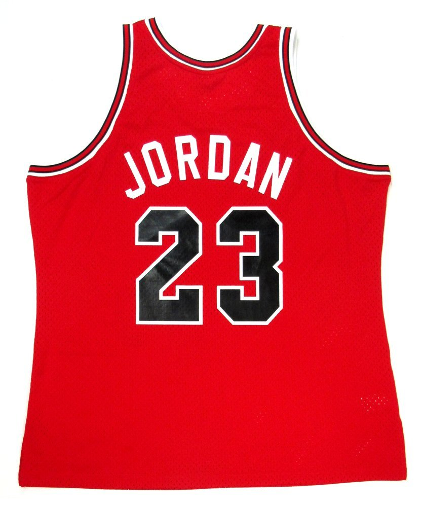 f0825285dd4 Michael Jordan Autographed Signed Chicago Bulls Mitchell   Ness Vintage  Rookie Season NBA Basketball Jersey - UDA at Amazon s Sports Collectibles  Store