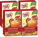 #3: True Apple: Hot Apple Cider Cinnamon | 4 boxes; 24ct total drink mix packets (Apple Cider) | From the makers of True Citrus (True Lemon)…