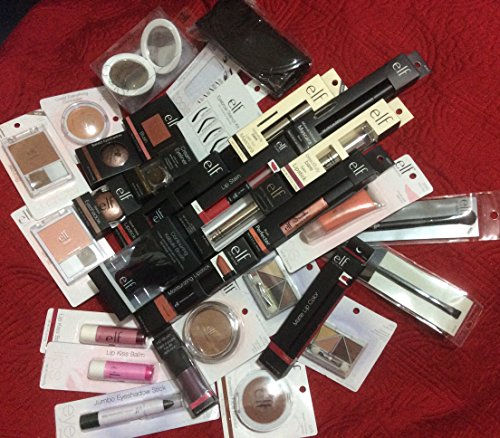 e.l.f. Assorted Mixed ELF Cosmetics Lot with No Duplicates (10 Piece)