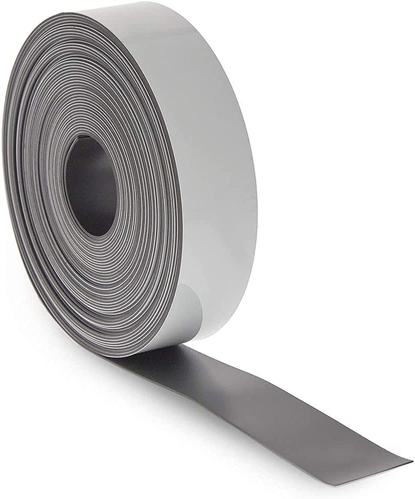 Dry Erase Magnetic Tape Roll, 1 Inch x 30 Feet (1 Pack)