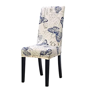 Super Uxcell Dining Chair Cover Stretch Bar Stool Slipcover Kitchen Chair Protector Spandex Pattern Chair Seat Cover For Home Decorative Dining Download Free Architecture Designs Intelgarnamadebymaigaardcom