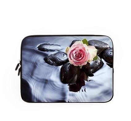 Funda para ordenador portátil Bolso Portátil Bolsa Caso floral, personalizado Lilly portátil Macbook Air funda