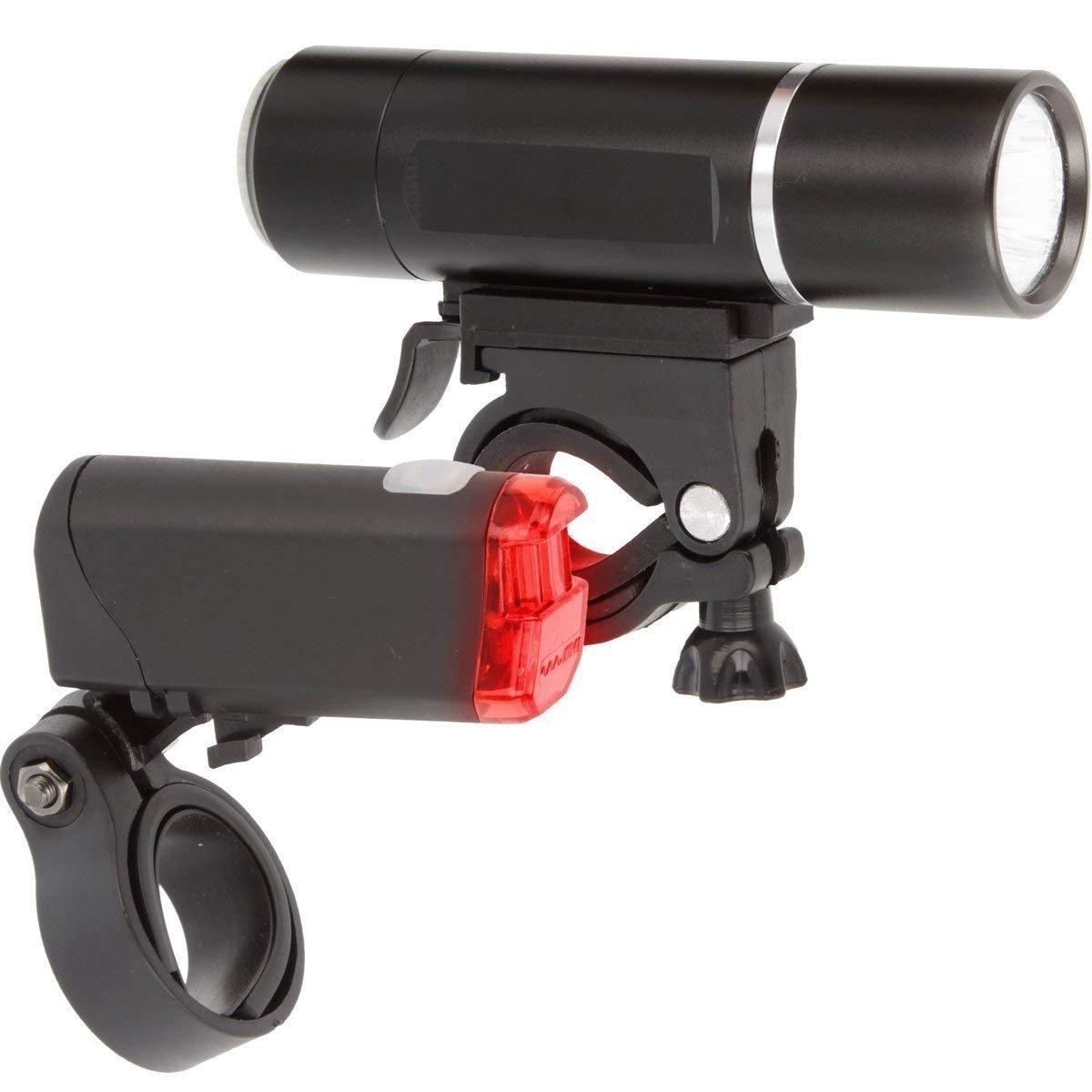 Fahrradlicht Set mit StVZO Zulassung Batteriebetriebenes R/ücklicht und Vorderlicht f/ür alle Fahrr/äder superhelles Fahrradlampenset Sicherheit beim Fahrradfahren Fahrradlampe Beleuchtungs-Set