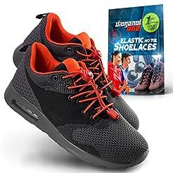 DIAGONAL ONE Elastic Shoe Laces for Men ...