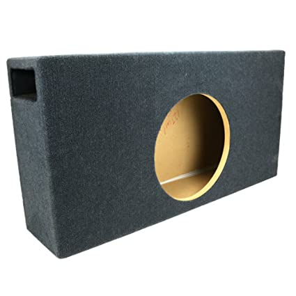 1 125 ft^3 Ported Shallow-Mount MDF Sub Woofer Enclosure for Single JL  Audio 12