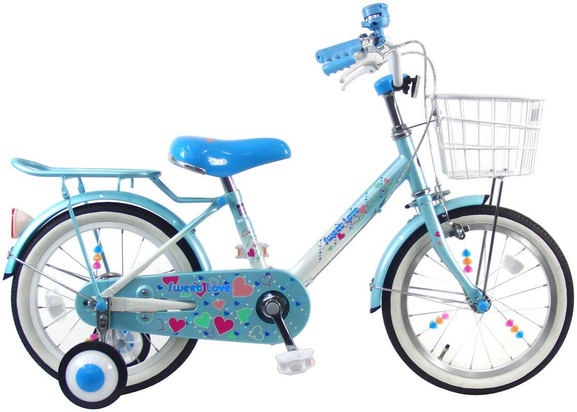 C.Dream(シードリーム) スイートラブ SW61 16インチ 幼児自転車 ブルー/ホワイト 100%組立済み発送 B017TS3X3G
