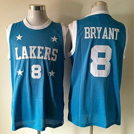 DCE Jersey de Hombre Los Ángeles # 8 Kobe Bryant Camisa de ...