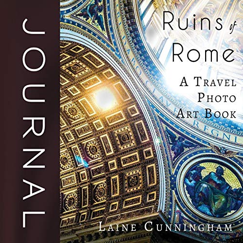 Ruins of Rome Journal: Large journal, blank, 8.5x8.5 for sale  Delivered anywhere in USA
