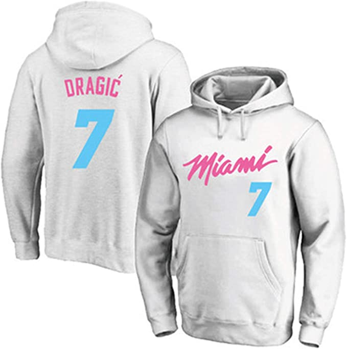 Miami Heat Uniform 7 # Goran Dragic Basketball Hoodie, manga ...