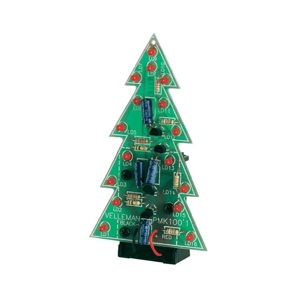 Amazon.com: Velleman MK100 Electronic Christmas Tree: Industrial ...
