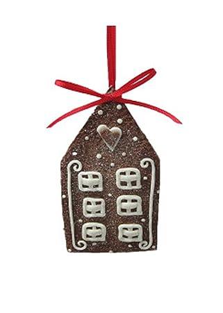 St. Nicholas Square Gingerbread House Christmas Ornament - Amazon.com: St. Nicholas Square Gingerbread House Christmas Ornament