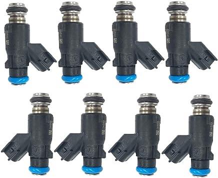 Fits 2010-2013 Chevrolet 12613411 Fuel Injector Set GMC 4.8L /& 5.3L 8