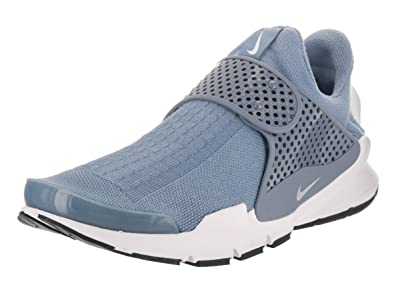 NIKE Men's Sock Dart Work Blue/White/White/Black Running Shoe 12 Men