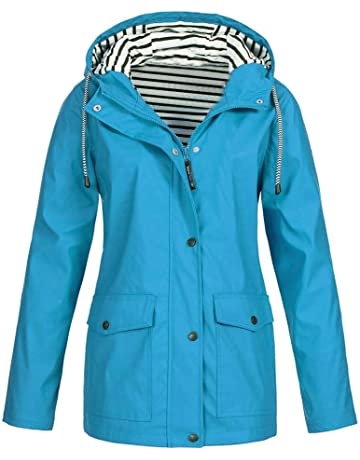 Ulanda Womens Hooded Jacket Plus Size e7cc2bf54