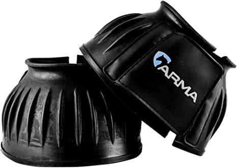 Touch Close Rubber Bell Boots Overreach Boots