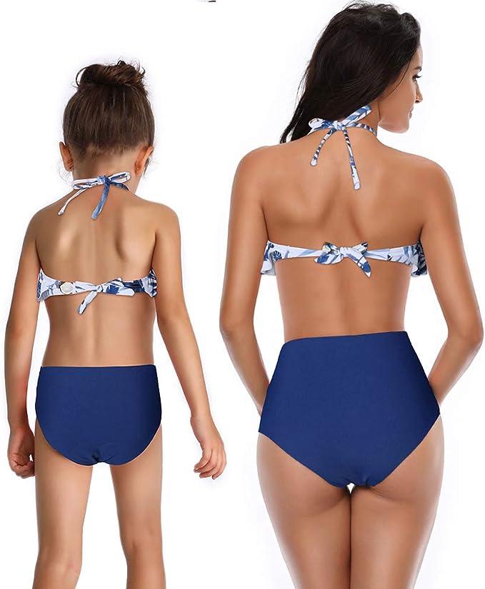 Amazon.com: 2 bañadores para niños y niñas + bikini de la ...