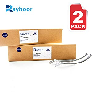 Rayhoor 6500EL3001A Dryer Moisture Sensor Bar Replacement Part Fit for LG Kenmore - Replaces PD00001914, 1268224, AP4445128, EAP3529161 (2 Pack)