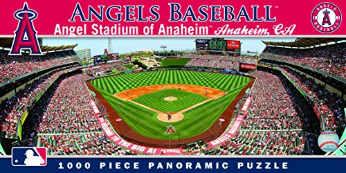 (MasterPieces MLB Anaheim Angels Stadium Panoramic Jigsaw Puzzle, 1000-Piece)