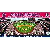 MasterPieces MLB Anaheim Angels Stadium Panoramic Jigsaw Puzzle, 1000-Piece