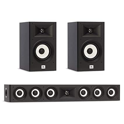 Jbl Home Speakers >> Amazon Com Jbl 3 0 System With 2 Jbl Stage A130 Bookshelf
