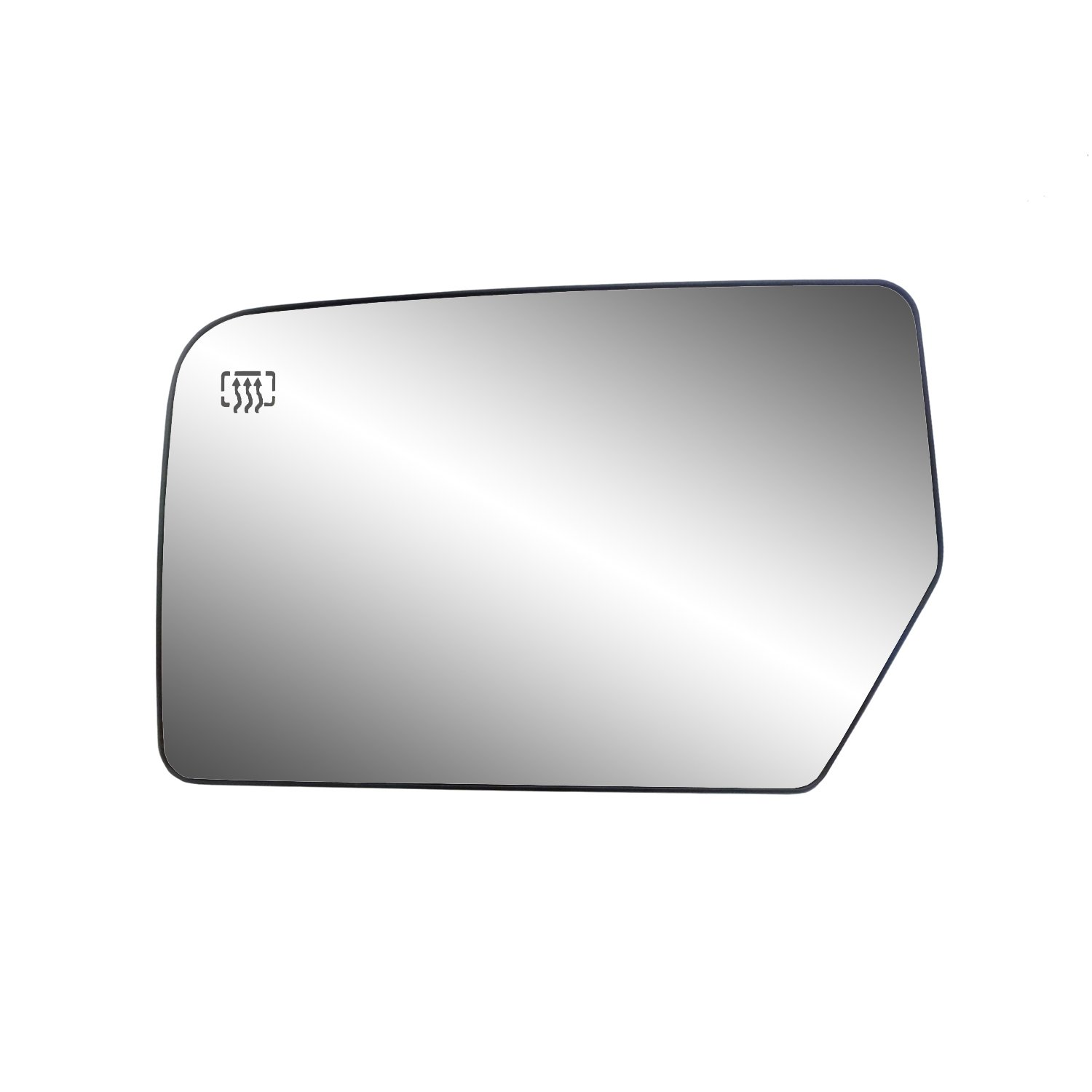 Fit System 30211 Ford/Lincoln Right Side Heated Power Replacement Mirror Glass with Backing Plate