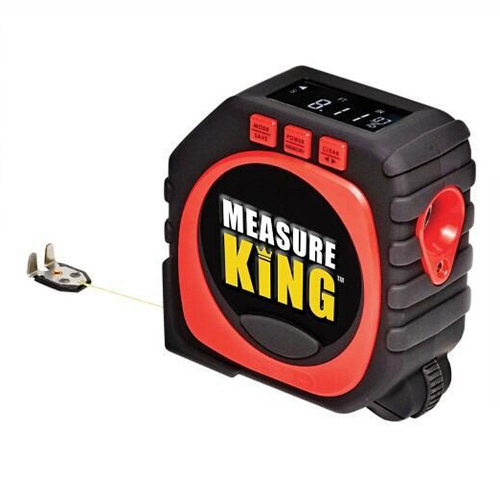 Ocamo Tape Measure with LED Display Roller Wheel Measure Tool,3-in-1