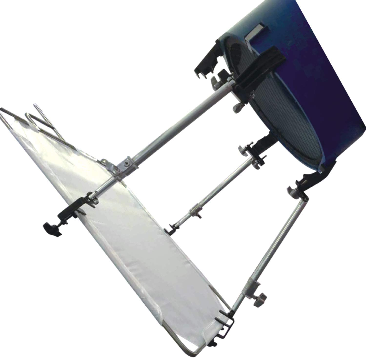 Sunset Foto Flag Extension Arm Holder with Articulating Clamps Scrim Flag Mount Photo Studio