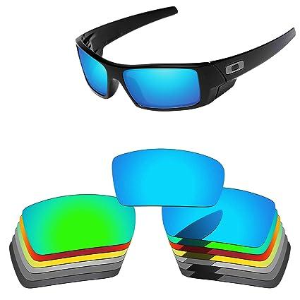666d37729a Oak ban Polarized Replacement Lenses for Oakley Gascan Sunglass-Multi  Options Black