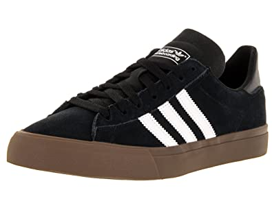 dac84ddc5a3 Image Unavailable. Image not available for. Color: adidas Campus Vulc II  80s Skate Shoes ...