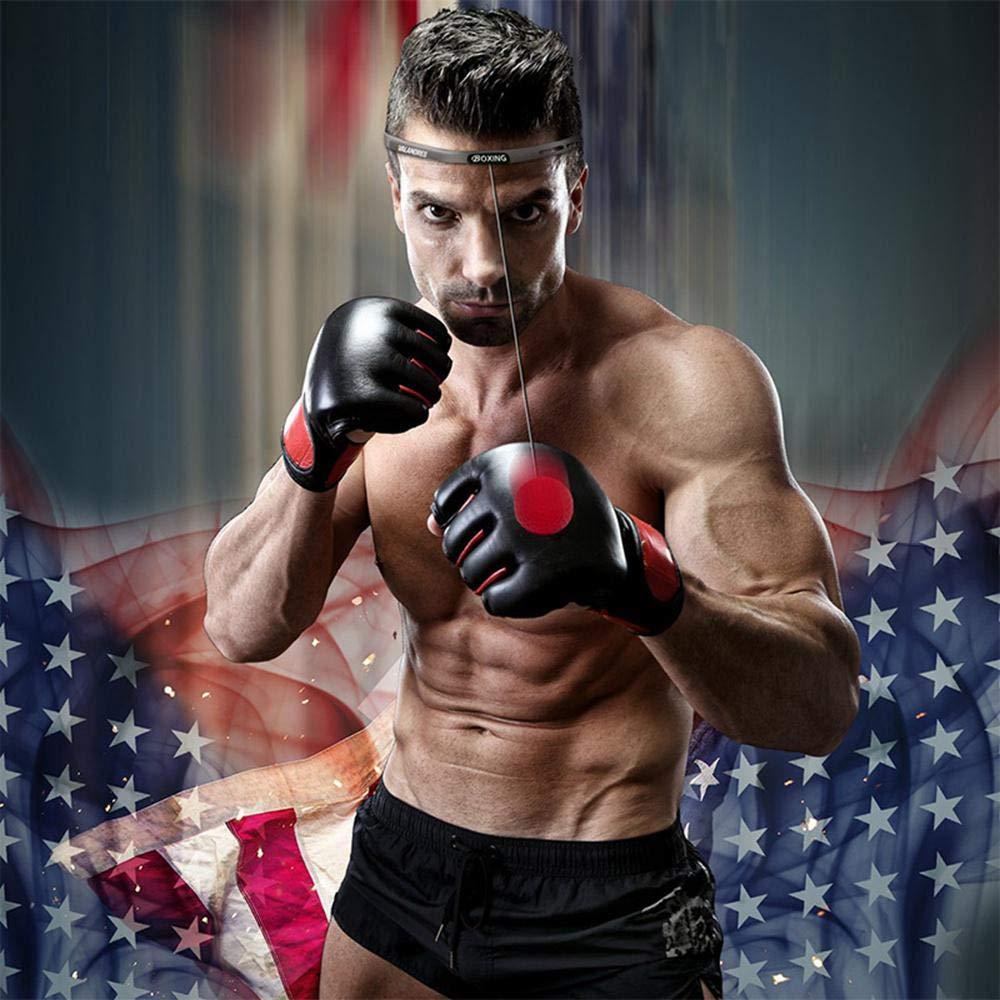 Baiwka Boxing Reflex Ball Beweglichkeits- 2019 3 Premium Boxing Balls Trainingsausr/üstung F/ür Reaktions Kampfk/ünste- Und Hand-Auge-Koordinationstraining
