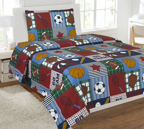 GorgeousHomeLinenDifferent Designs 3pc Kids Microfiber Twin Size Bedding