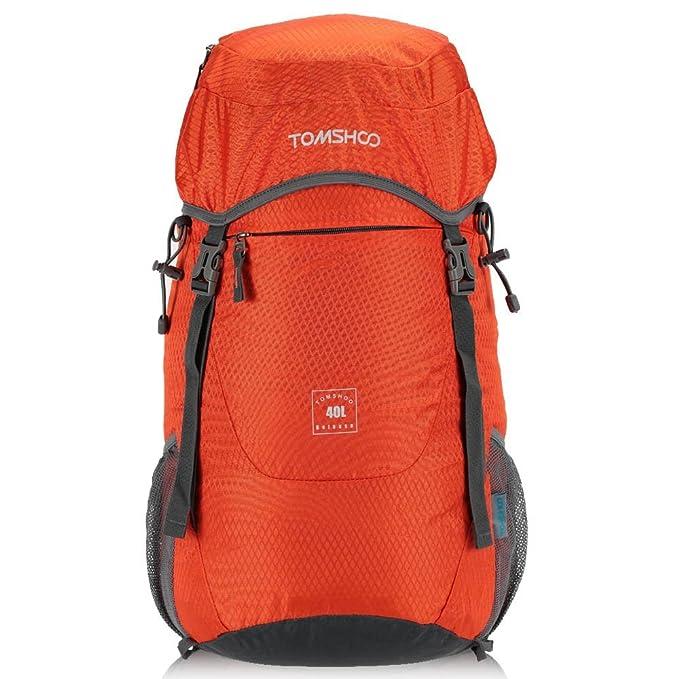 ce824a97f1 19 opinioni per TOMSHOO Zaino Trekking 40L Pieghevole per Viaggio
