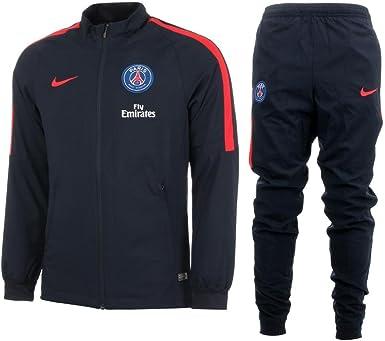 comerciante corto Sinfonía  Nike PSG Y NK Dry TRK Suit SQD K - Chándal Paris Saint Germain para chicos,  color azul, talla XS: Amazon.es: Ropa y accesorios