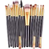 Keptei Makeup Brushes Set Cosmetic Foundation Eyeshadow Lip Brush Makeup Tools Brush Sets