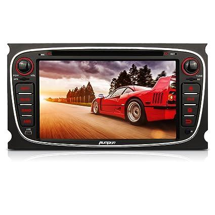 Pumpkin 7 inch Android 4.4.4 Autoradio 2 DIN per Ford Mondeo S-Max ... 271ea25eb325
