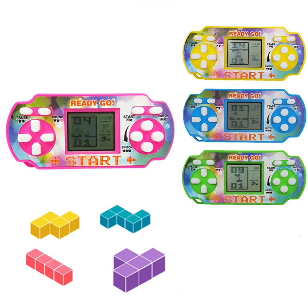 Amazon com: EAPTS Classic Tetris Game Console Handheld Mini Game