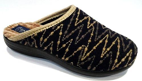 stili diversi qualità e quantità assicurate classcic EASY WALK pantofole ciabatte invernali da donna art. 185018 ...
