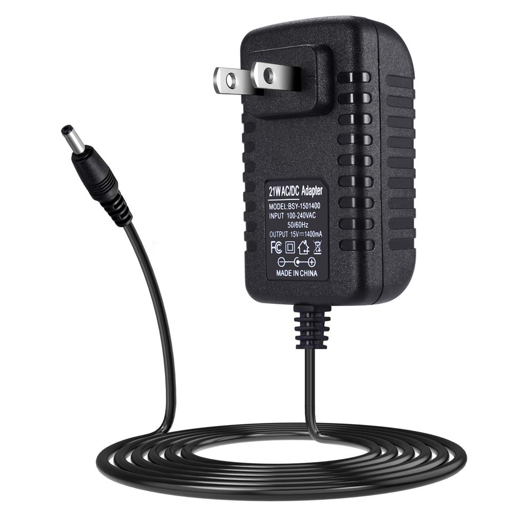 SoulBay 21W 15V Power Adapter with 6 Foot Long Cord for Amazon Echo, Echo Plus, Echo Show and 2nd Generation Amazon Fire TV