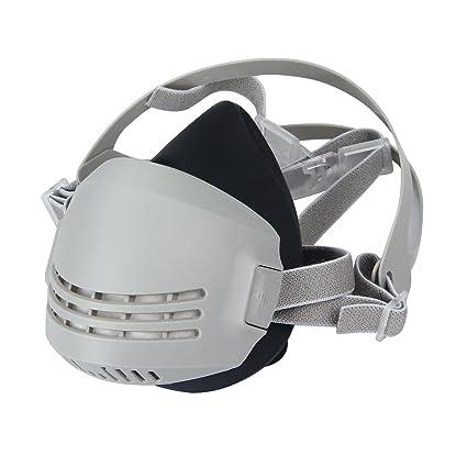 Latinaric Máscara respiratoria reutilizable con filtros de carbón ...