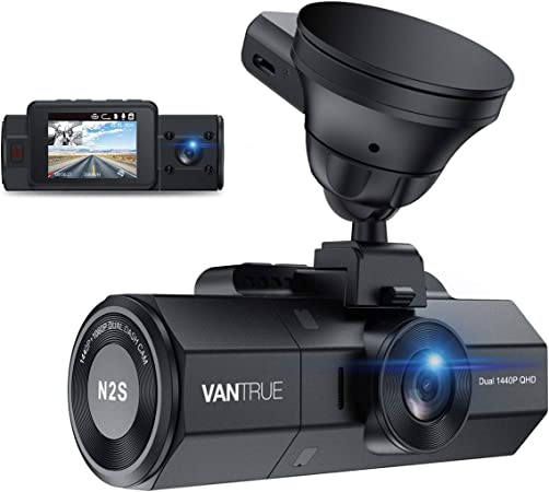 Vantrue N2s 4k Gps Dashcam Dual Lens Camera 1440p 1440p Elektronik